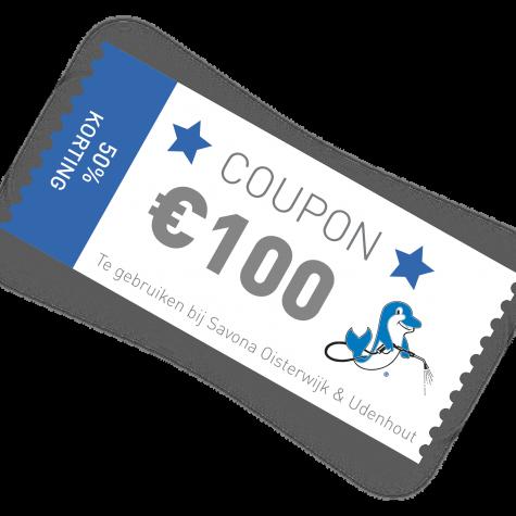 Savona coupon €100