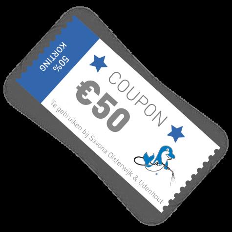 Savona coupon €50